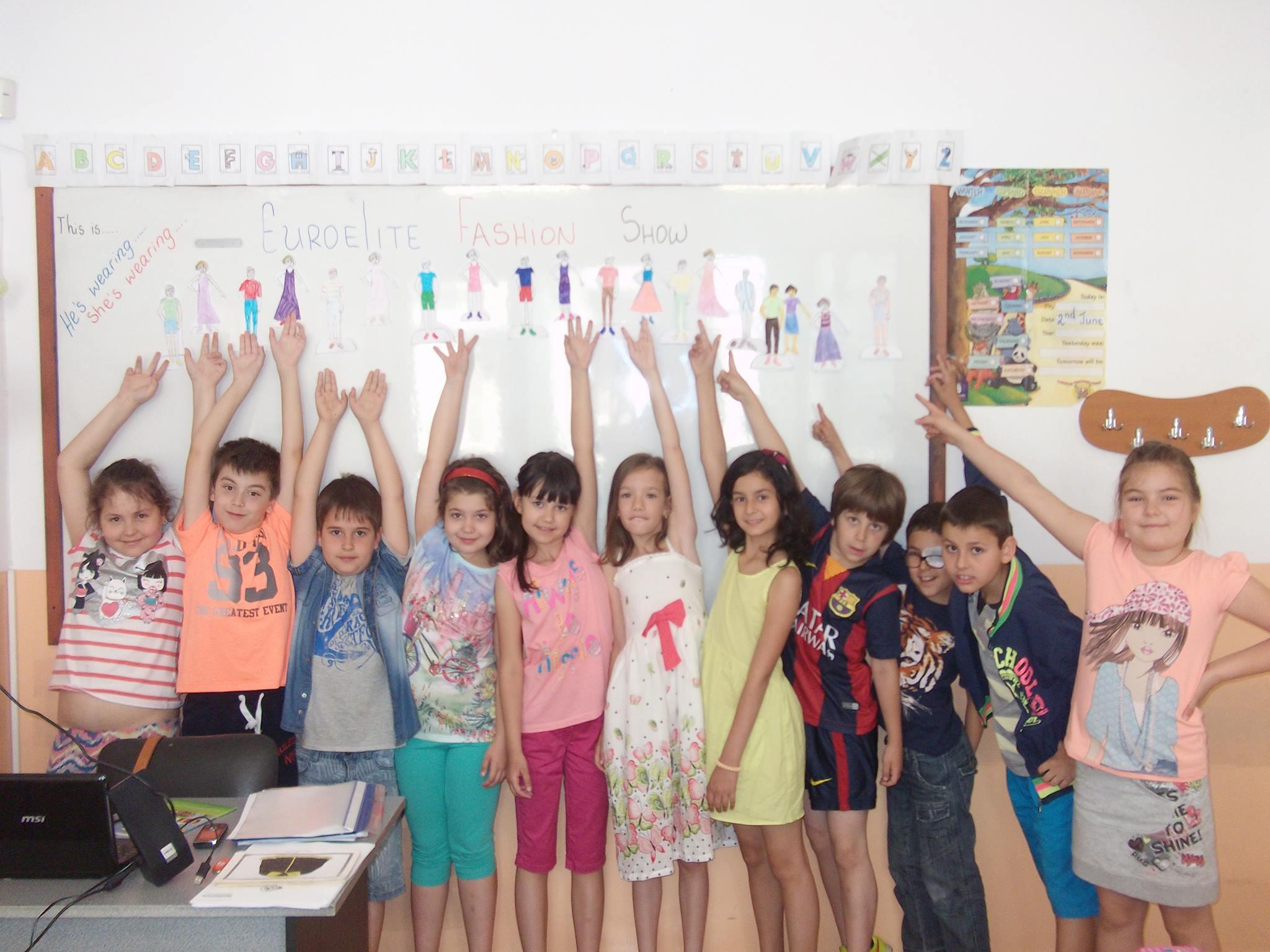 Летен подготвителен курс за първокласници гр. Пловдив от езиково училище Euroelite